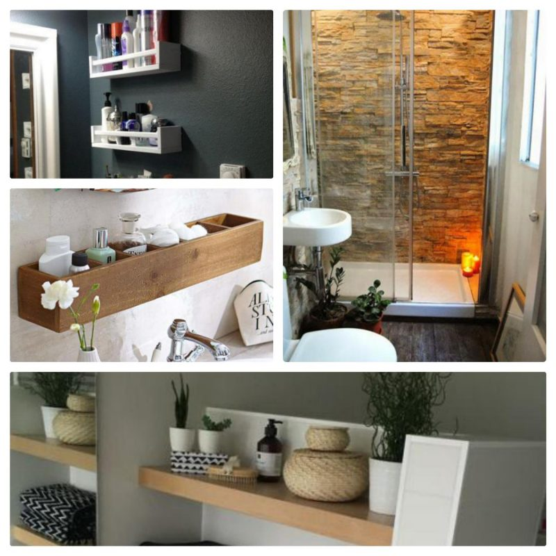 Ideas para decorar un ba o peque o moderno imagina tu for Decoracion apartamentos muy pequenos