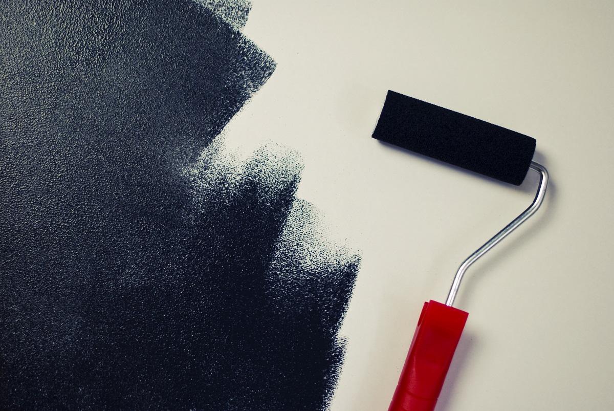 Pasos para preparar los muros con cubierta de yeso para pintarlos