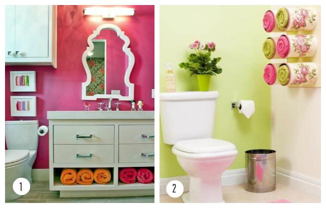 Más consejos para la decoración de un baño pequeño